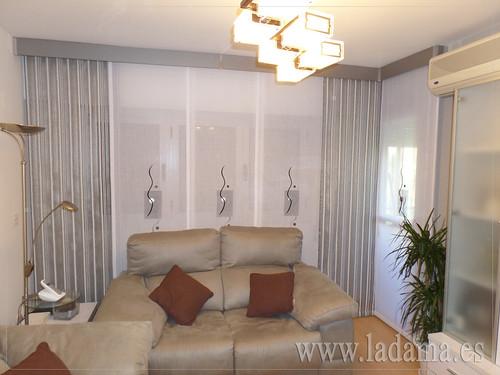 Cortinas modernas para sal n m s informaci n en nuestra - Decoracion de cortinas ...