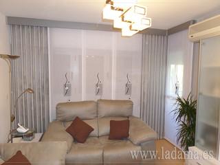 Cortinas modernas para sal n m s informaci n en nuestra for Doble cortina para salon