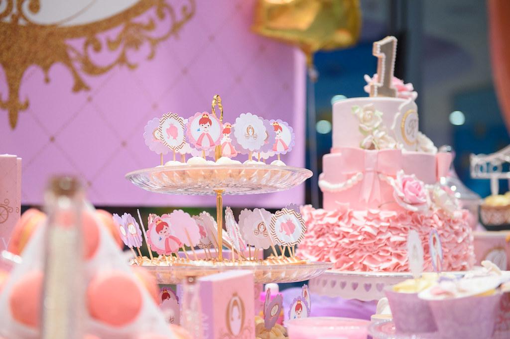 Birthday Cake Dessert Table