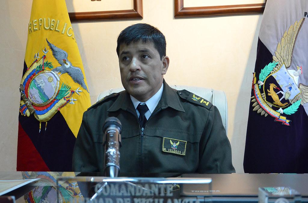 El coronel Marco Villegas, Comandante del Distrito de Poli… | Flickr