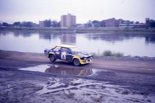 Walter Röhrl / Christian Geistdörfer (4) Fiat 131 Abarth