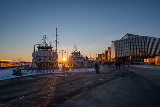 Sunset - Aker Brygge | by Aviation & Maritime