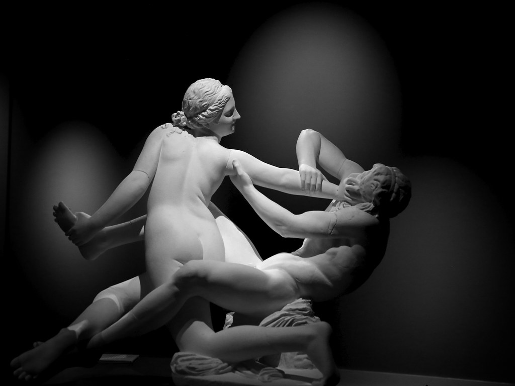Hermaphrodite ... Satyr and Hermaphrodite at the Ashmolean | by peet-astn