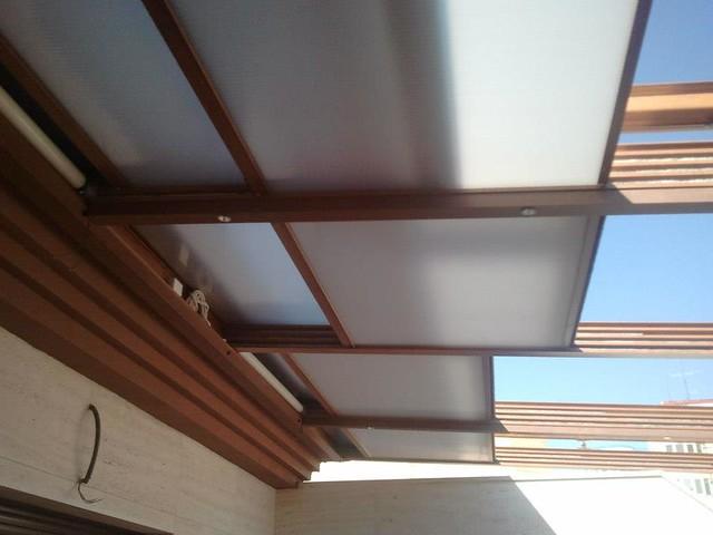 techos de policarbonato fijos y retrÁctiles | flickr