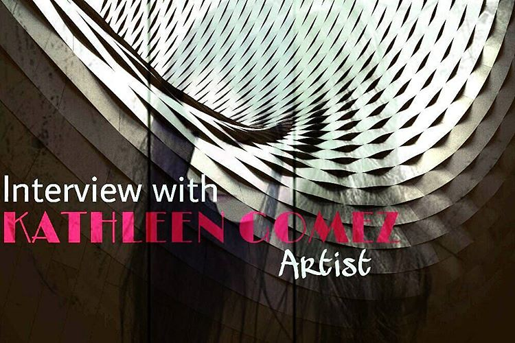Am excited to interview @kathleengomezart and here is the