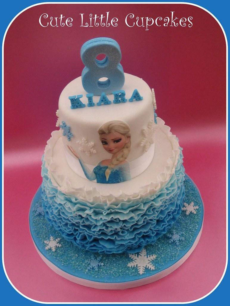 Frozen Birthday Cake Design Credit Always With Cake Heidi