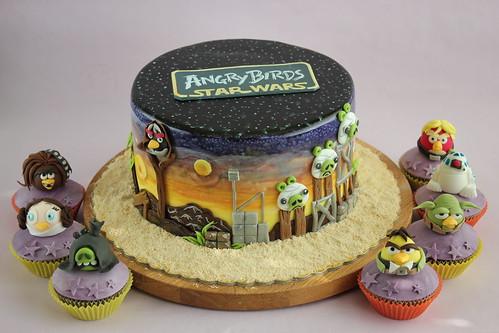 Angry Birds Star Wars Cake Pan