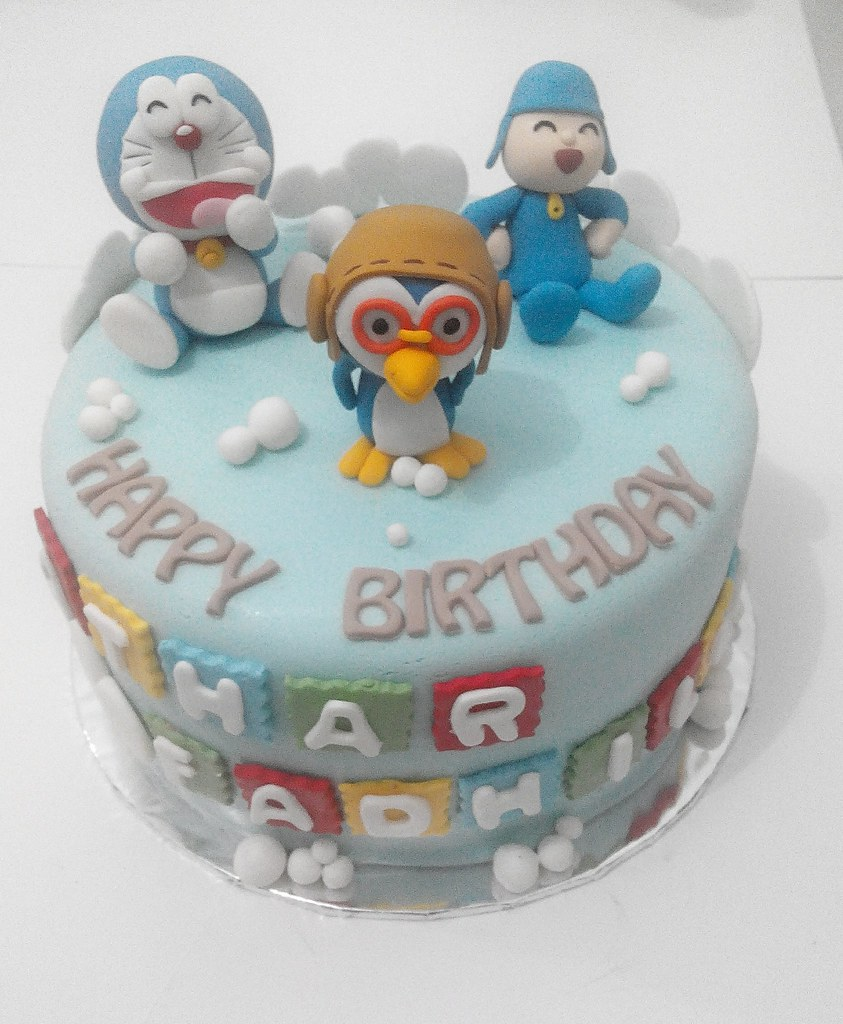 Pocoyo Pororo Birthday Cake Jakarta Outlet Pejaten Vill Flickr