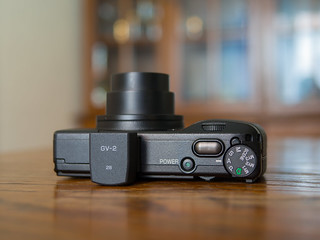 Ricoh GR Digital 3 & GV-2 optional viewfinder | by Ivan Radic
