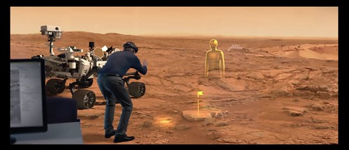 HoloLens in Use for Mars Exploration | by omanreagan