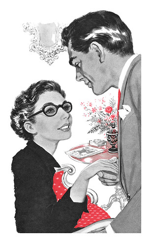 1956 illustration by Eric Earnshaw | by totallymystified