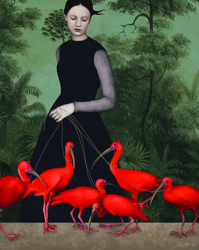 Daria Petrilli The Lady of The Ibis