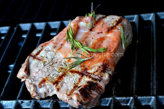 Steak de Boeuf Grillé au Jambon et Romarin © Ana Luthi Tous droits réservés 005