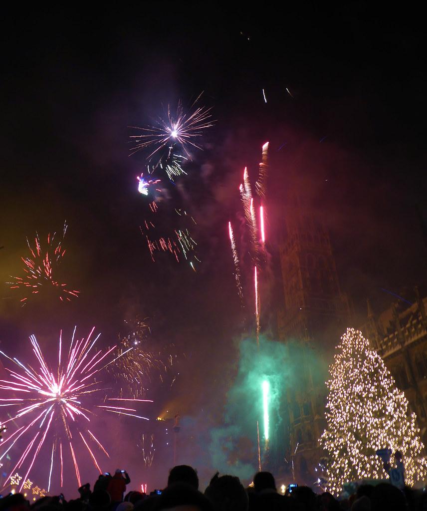 Happy New Year Greetings From Munich Prosit Neujahr Aus Flickr