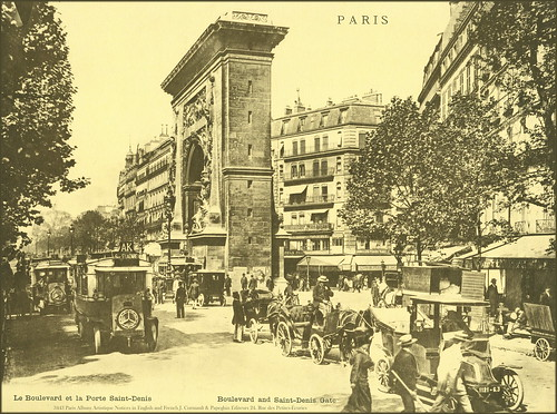 3443 paris album artistique notices in english and french for Porte french to english