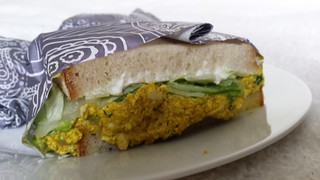 Tim Curried Egg Salad Sandwich from Smith & Deli