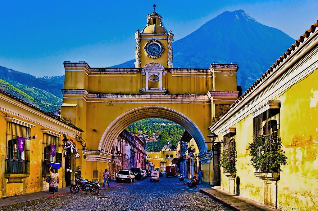 Santa Catalina Arch, Antigua, Guatemala, Central America   Flickr