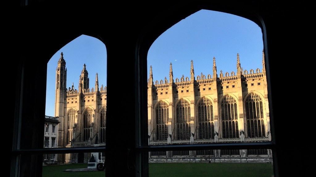 King\'s College on Christmas Eve | Photo: Sir Cam | Cambridge ...