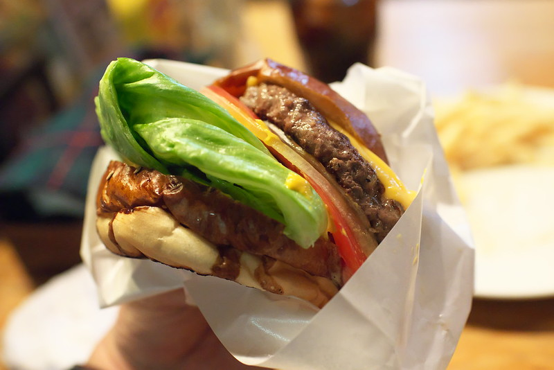 ハングリーヘブンのハンバーガー 目黒 2016年6月4日
