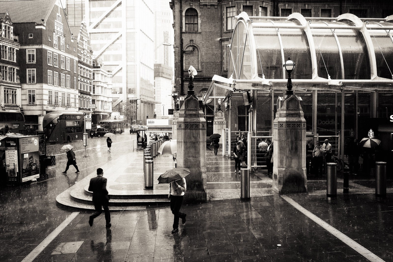 Deluge by Liverpool Street
