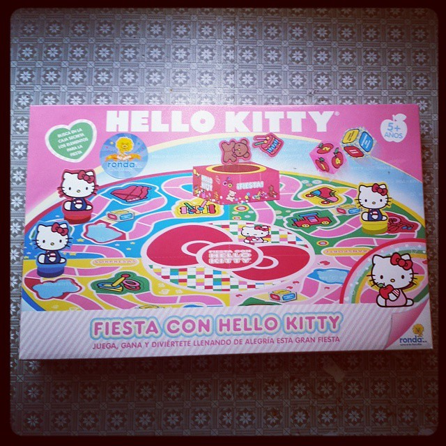 Juego De Mesa De Hello Kitty Juego Hellokitty Jugueteri Flickr