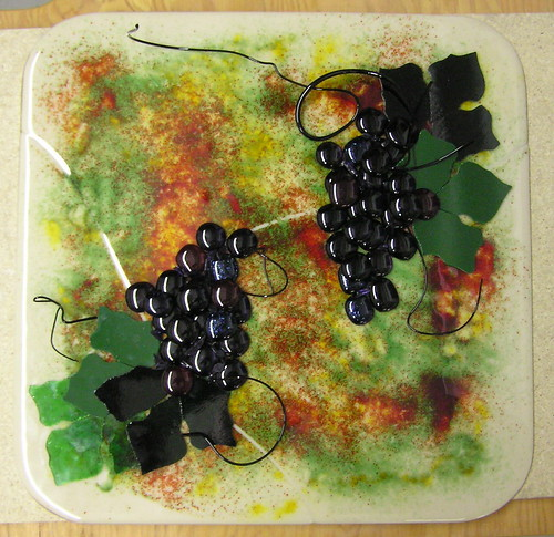 Grape Platter | by Northern Art Glass