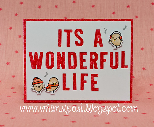 It 39 S A Wonderful Life This Card Features Lawn Fawn 39 S Cole Flickr