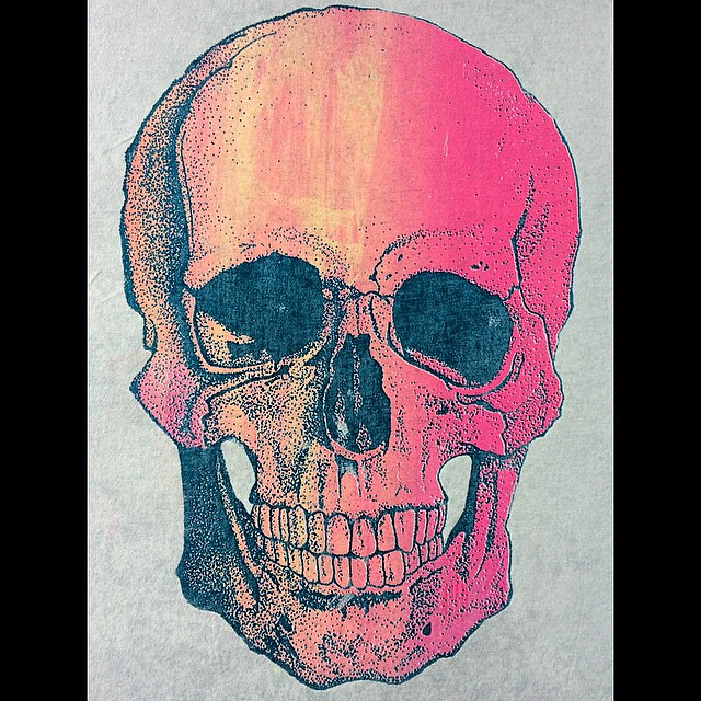 Experimentando Puntillismo Pointillism Calavera Skele Flickr