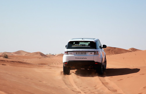 The Webb Ellis Cup completes visit to Dubai as part of Rugby World Cup Trophy Tour | by landrovermena