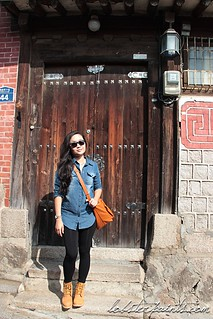 30 Sep 2014: Bukchon Hanok Village 북촌한옥마을  | Seoul, South Korea | by go.awaylobster.com