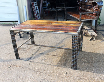 ... Rustic Dining Table   Writing Desk   Unique Furniture   Kitchen Tables    Reclaimed Wood