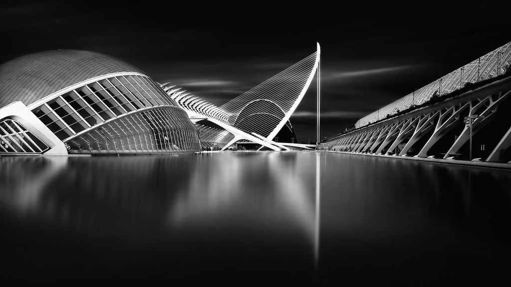 The black city another view from city of sciences and arts flickr the black city by anto camacho voltagebd Images