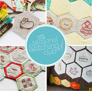 Seasonal Stitching Club | by wildolive