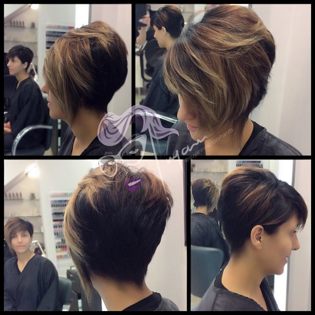 cut and #color on my #pretty Vartuhi 💛💛 #haircut #hairs… | Flickr