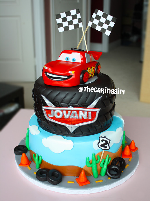 Disney Cars Lightning Mcqueen Cake Visit My Blog At T Flickr