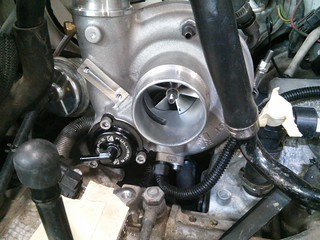 Speed sensor installed | by airboy123