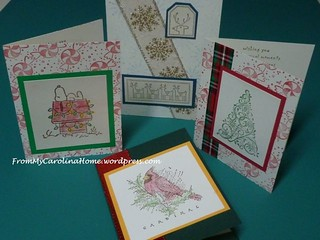 Christmas Cards 14 | by Carole @ From My Carolina Home