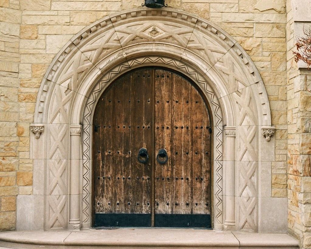 Arched door