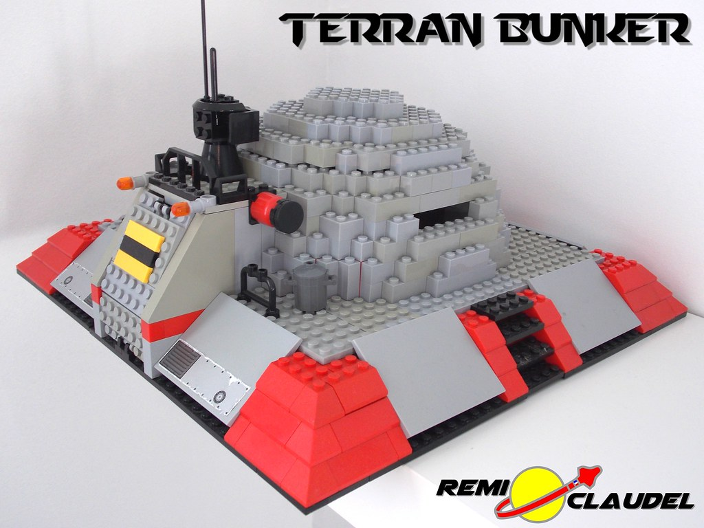 Lego Starcraft Terran Bunker 2 By Remi Claudel The Best Flickr