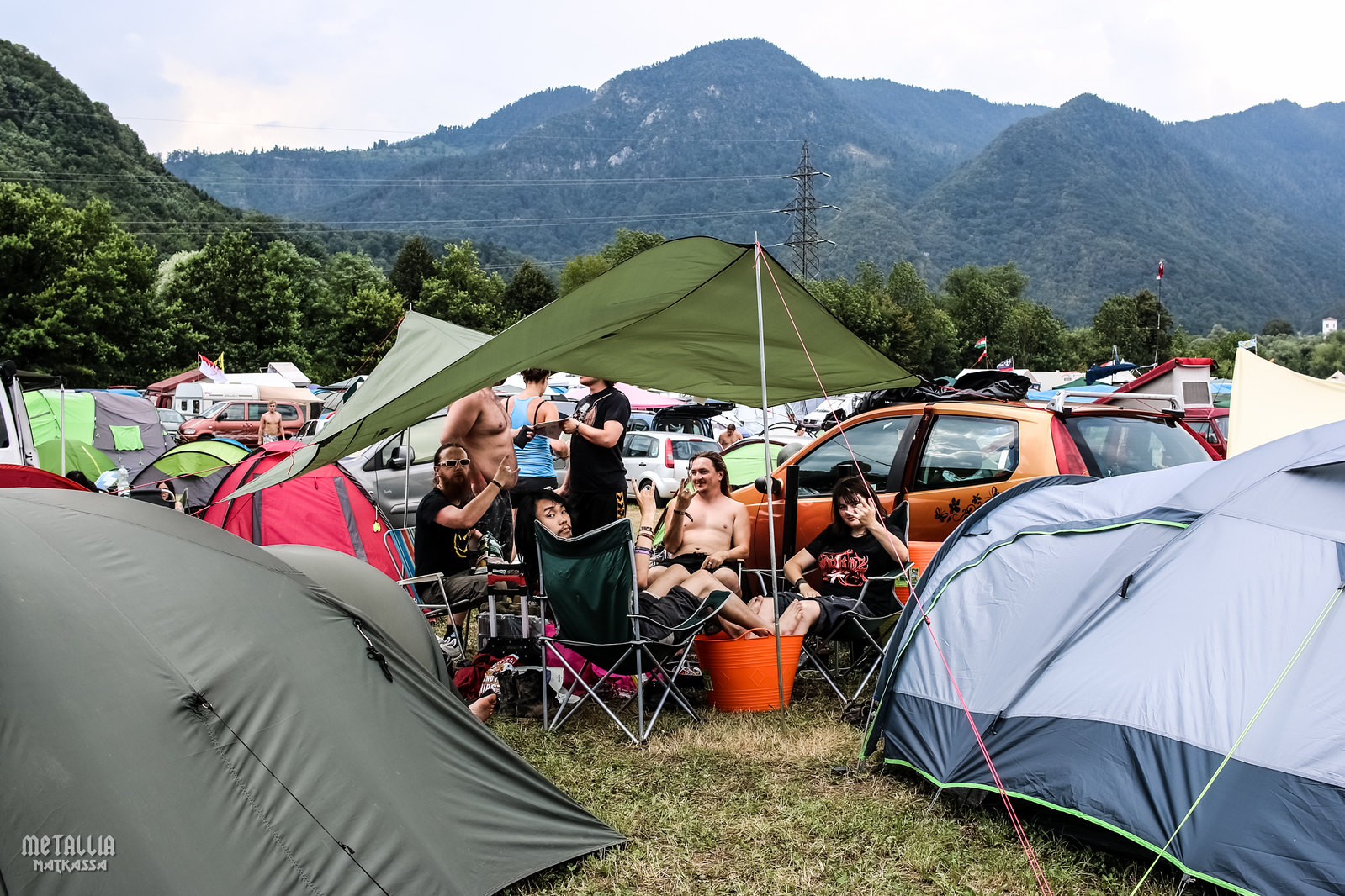 metaldays 2016, metaldays, metalcamp, metaldays camping site, campsite