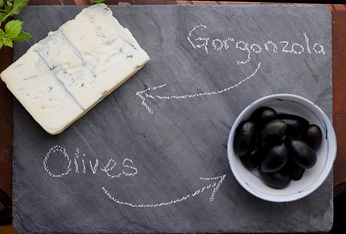 Gorgonzola and Olives | by nycblondieandbrownie