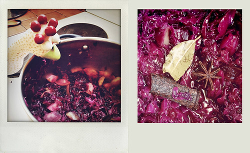 Henry is very good at cooking spicy red cabbage | by ilsebatten