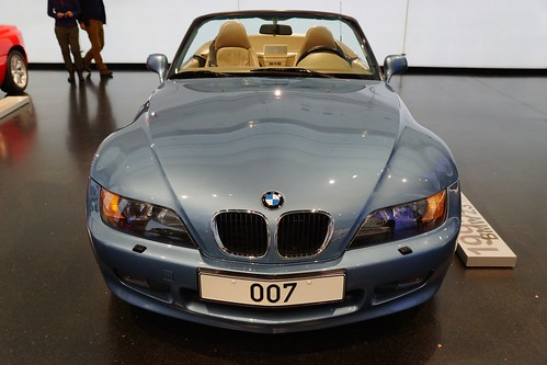 1995 Bmw Z3 Roadster At The Bmw Museum In Munich Bavaria