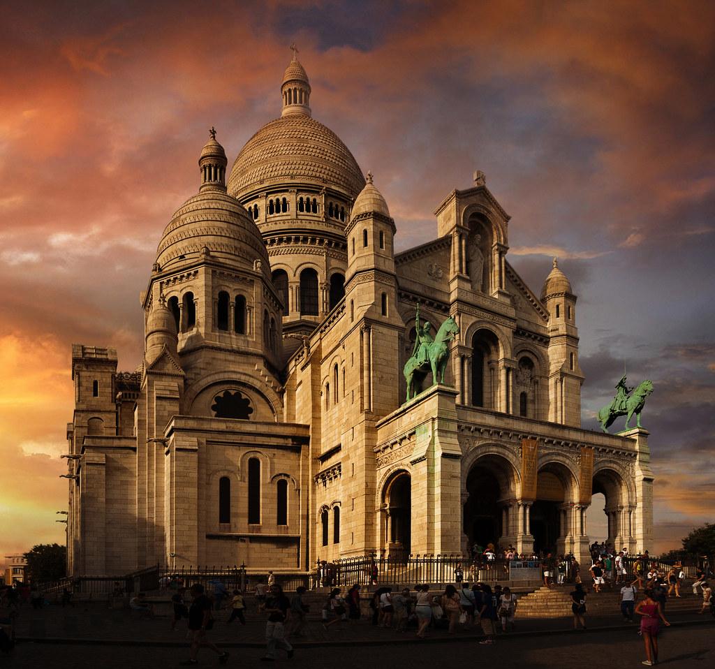 Sacre Coeur Basilica of the Sacred