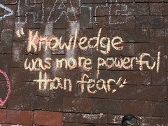"Chalking Our Pride & Sorrow & Strength & Love (Orlando): ""Knowledge was more powerful than fear."""