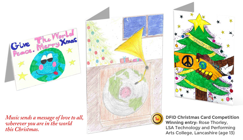 Christmas card winning designs 2014 | Huge congratulations t… | Flickr