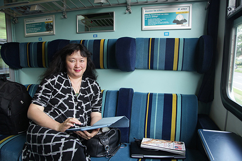 On the train | by David Finckel and Wu Han
