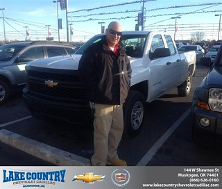 #HappyAnniversary to Luciano Vieira on your 2014 #Chevrolet #Silverado 1500 from Matt  Madewell at Lake Country Chevrolet Cadillac! | by Lake Country Chevrolet Cadillac