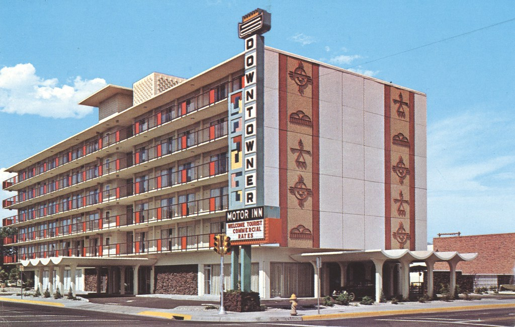 Downtowner Motor Inn - Albuquerque, New Mexico