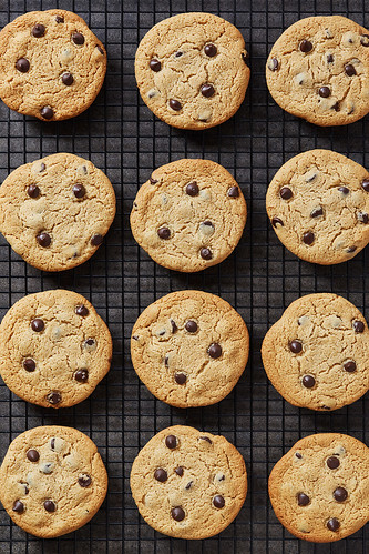 Perfect Grain-free Chocolate Chip Cookies {gluten-free, paleo, egg-free, dairy-free} | by Tasty Yummies